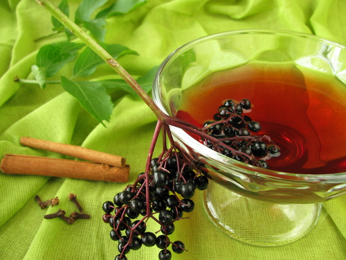 Elderberry punch